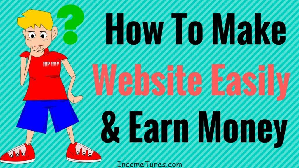 create website and earn