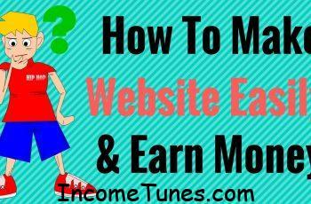 create website and earn