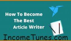 Best Article Writer হতে চান?