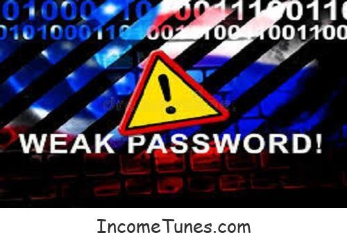Weak Password ই বিপদের কারণ